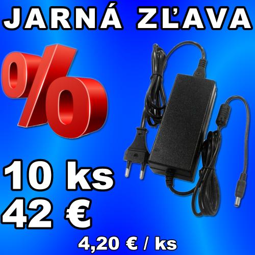 V-TAC sieťový adaptér 12V 2,5A 30W - 10 kusov