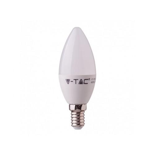 V-TAC PRO SAMSUNG LED žiarovka E14 C37 7W teplá biela