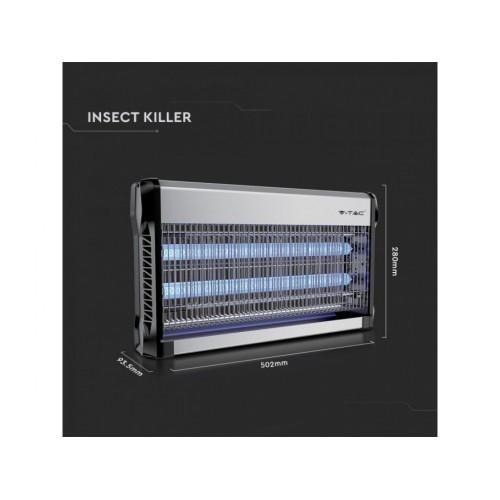 V-TAC elektrický lapač hmyzu 2x15W