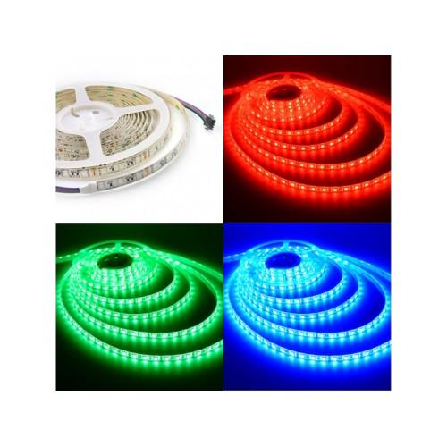 V-TAC LED pás SMD5050 60 LED/m 10,8W/m RGB IP20