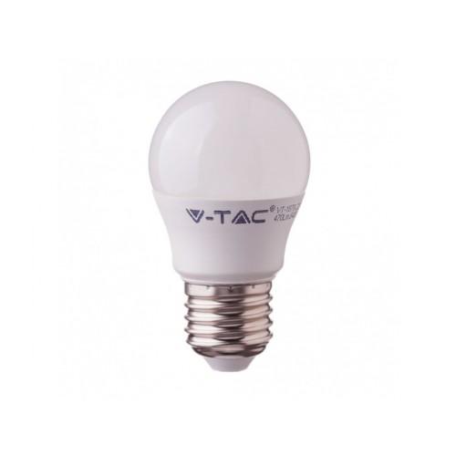 V-TAC PRO SAMSUNG LED žiarovka E27 G45 4,5W denná biela A++