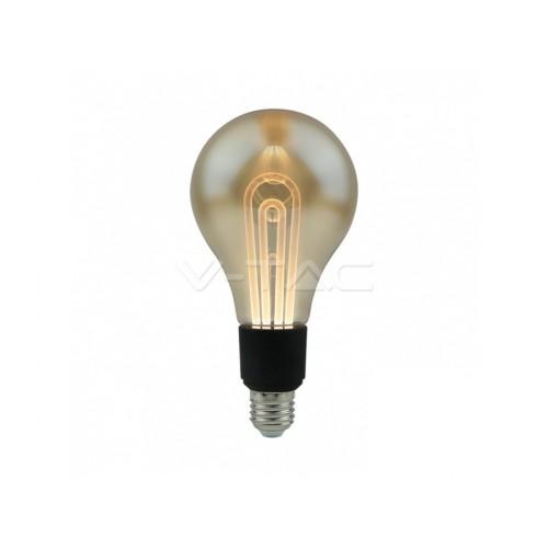 V-TAC LED žiarovka E27 G100 5W teplá biela