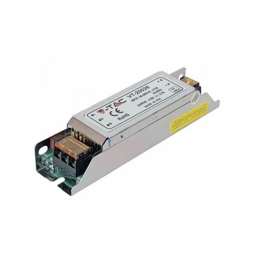 V-TAC napájací zdroj 12V 2,08A 25W IP20 SLIM