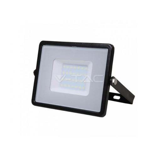 V-TAC PRO SAMSUNG LED reflektor 30W teplá biela čierny