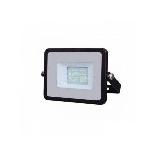 V-TAC PRO SAMSUNG LED reflektor 10W denná biela čierny