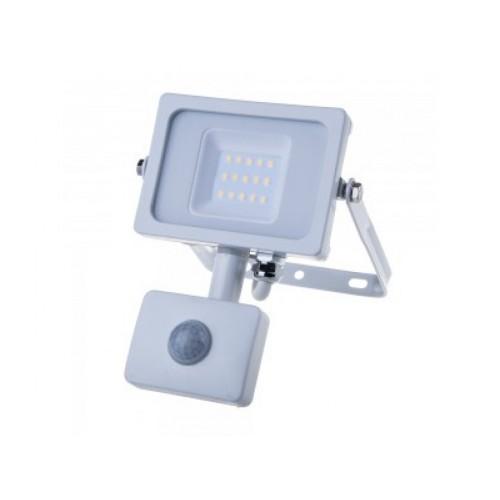 V-TAC PRO SAMSUNG LED reflektor 10W studená biela so senzorom