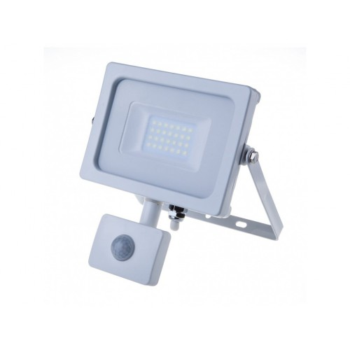 V-TAC PRO SAMSUNG LED reflektor 20W teplá biela so senzorom