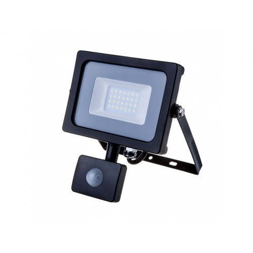 V-TAC PRO SAMSUNG LED reflektor 20W denná biela so senzorom