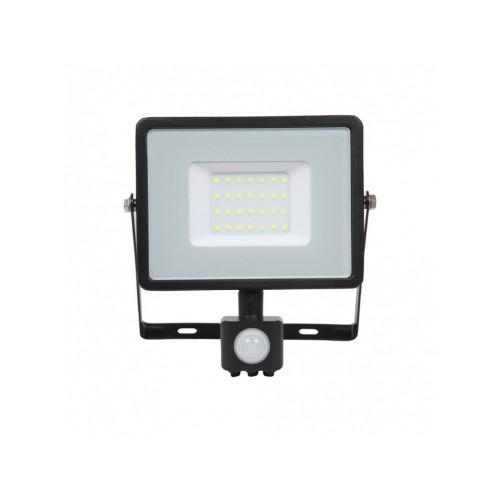 V-TAC PRO SAMSUNG LED reflektor 30W denná biela so senzorom