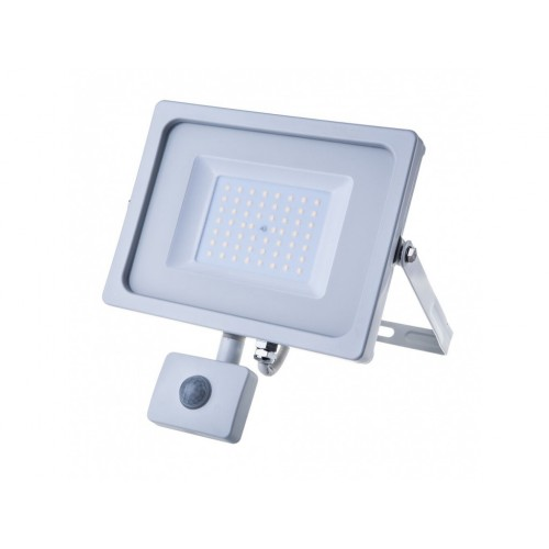 V-TAC PRO SAMSUNG LED reflektor 50W studená biela so senzorom