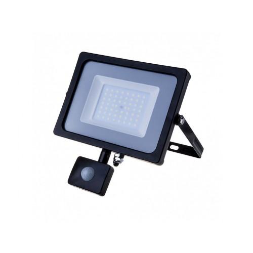V-TAC PRO SAMSUNG LED reflektor 50W teplá biela so senzorom