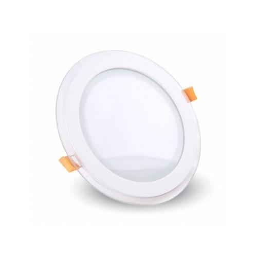 V-TAC LED panel 6W teplá biela kruhový