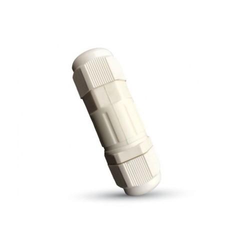 V-TAC vodeodolná káblová spojka biela
