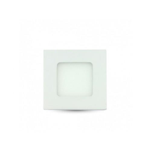 V-TAC LED panel 3W studená biela štvorcový