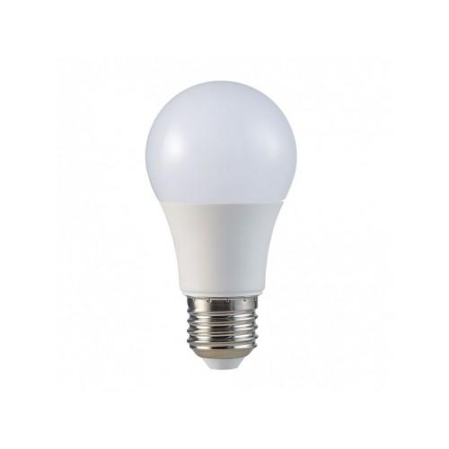V-TAC LED žiarovka E27 A60 9W denná biela