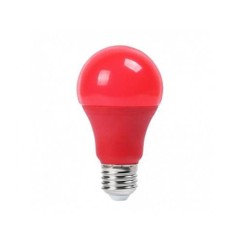 V-TAC LED žiarovka E27 9W červená