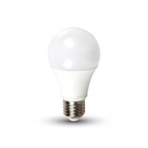 V-TAC LED žiarovka E27 A60 11W studená biela