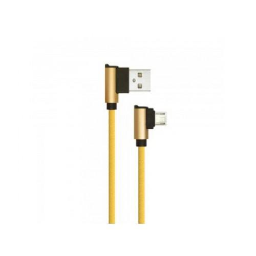 V-TAC USB-MICRO kábel 1m zlatý 2.4A Diamond séria