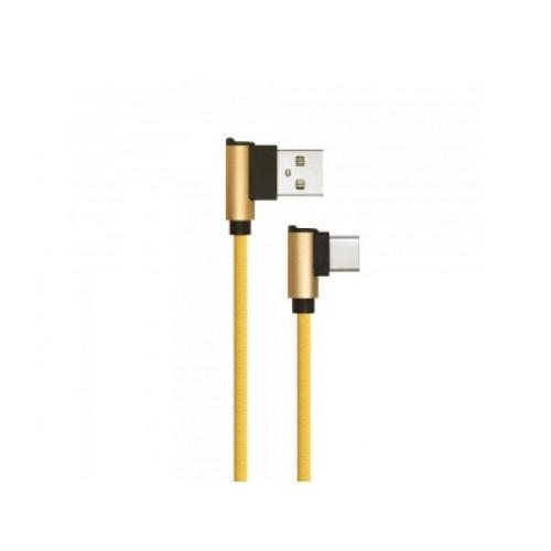 V-TAC USB-C kábel 1m zlatý 2.4A Diamond séria