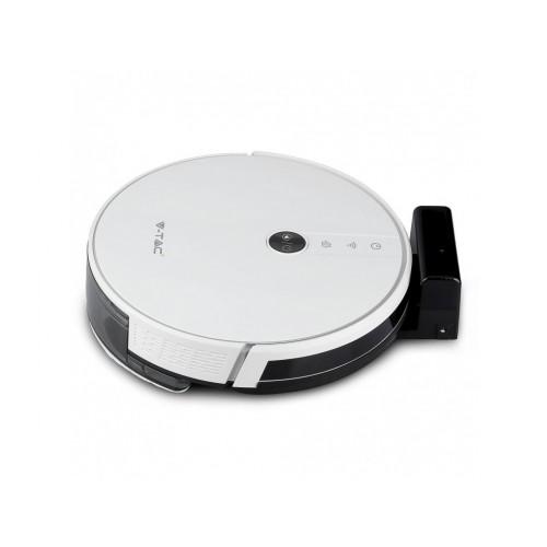 V-TAC SMART robotický vysávač biely