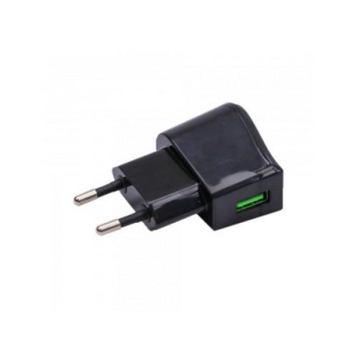V-TAC POWER USB adaptér čierny