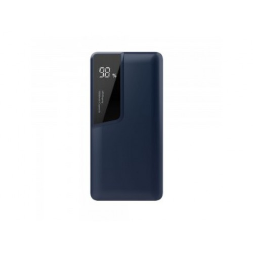 V-TAC POWER power bank 10 000mAh + display USB-C modrý