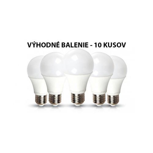 V-TAC PRO SAMSUNG LED žiarovka E27 A58 9W teplá biela - 10 KUSOV