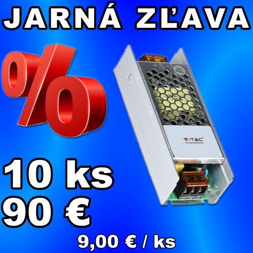 V-TAC napájací zdroj 12V 10A 120W IP20 - 10 kusov